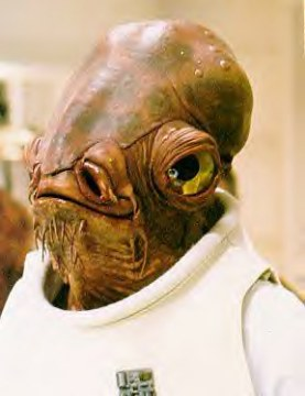 Character Species On SWOE Ackbar